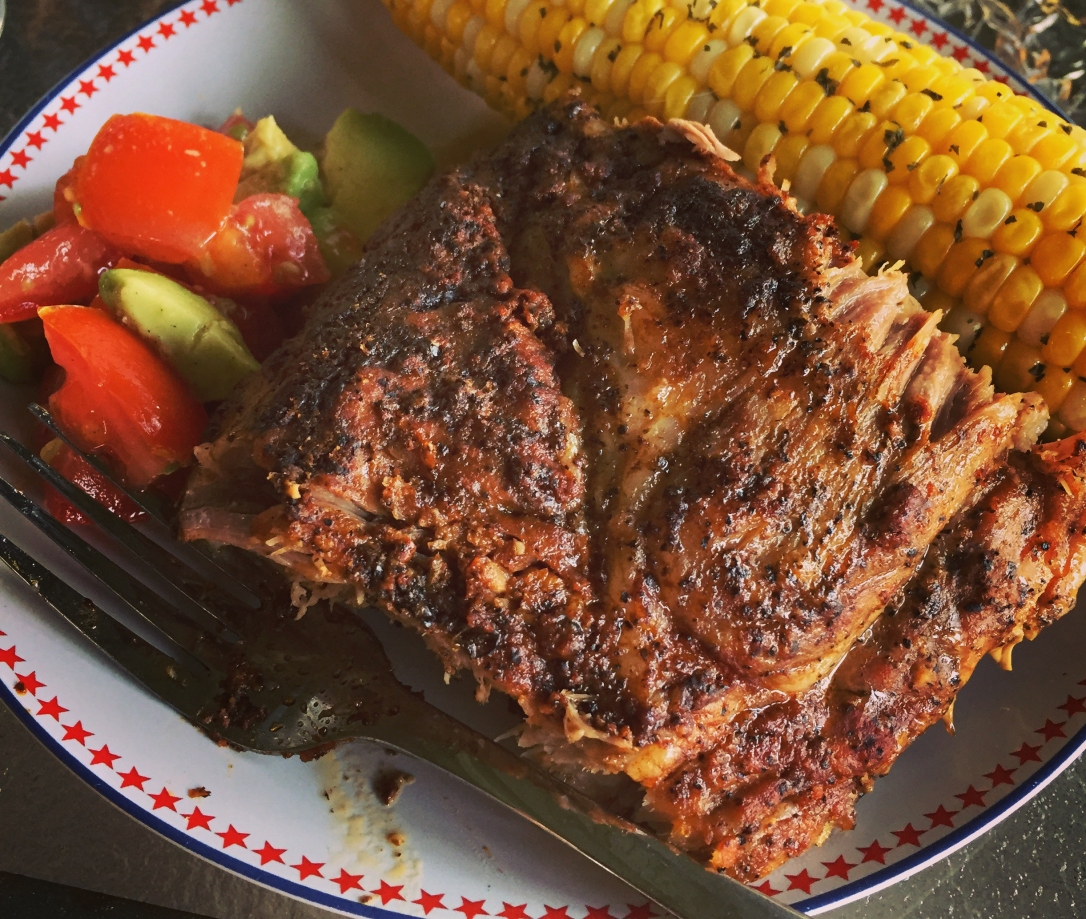 Ribs with Corn