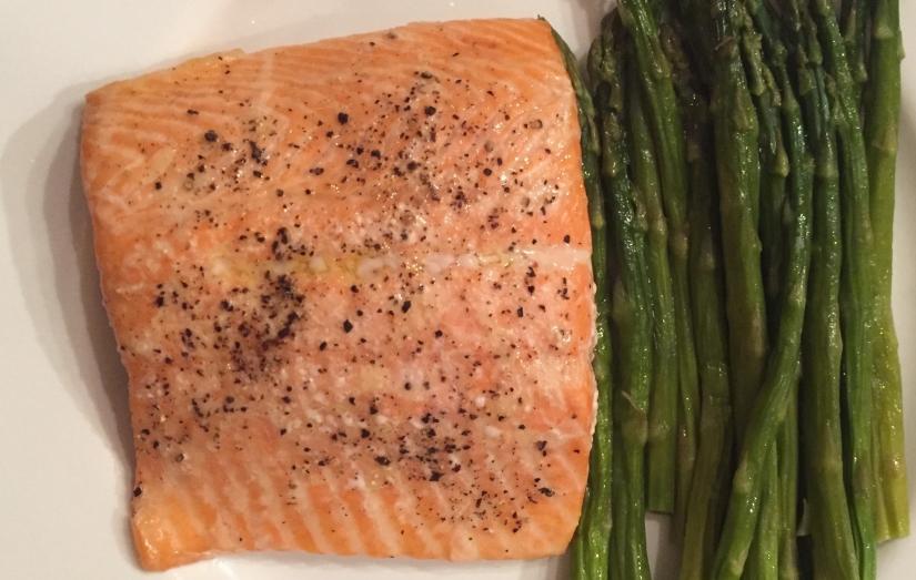 Salmon & Asparagus
