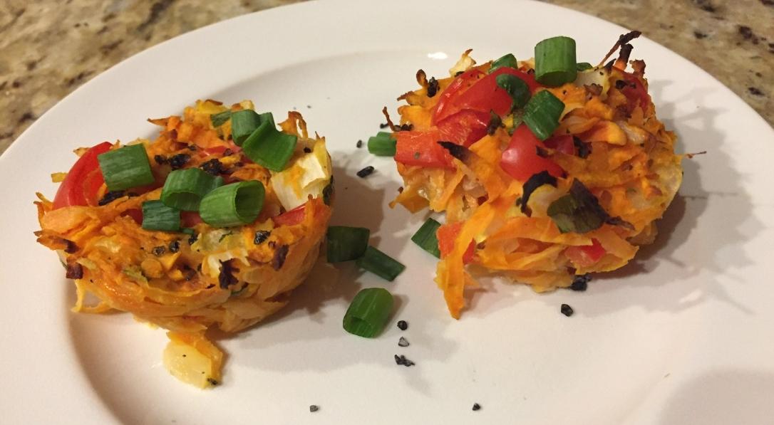 Sweet Potato Haystacks Side Angle