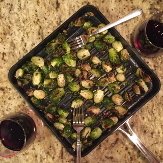 Brussel Sprouts with Wine