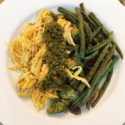 Pesto and Chicken