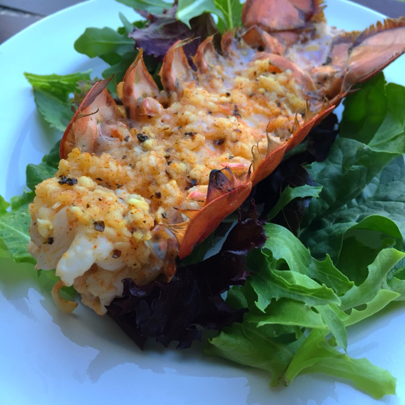Lobster Tail Close Up