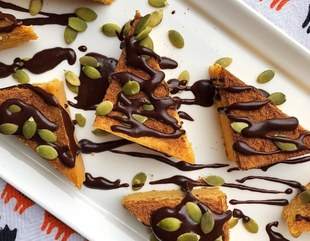 Pumpkin Fudge Cats Diagonal