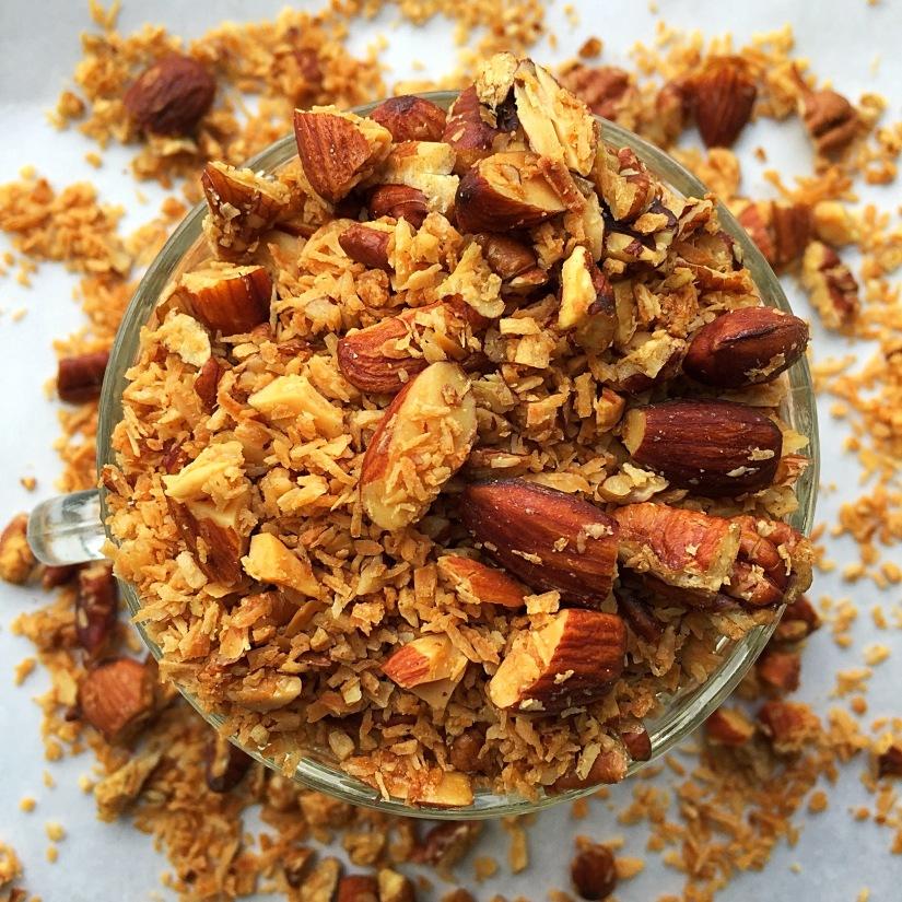 Coconut Almond Granola