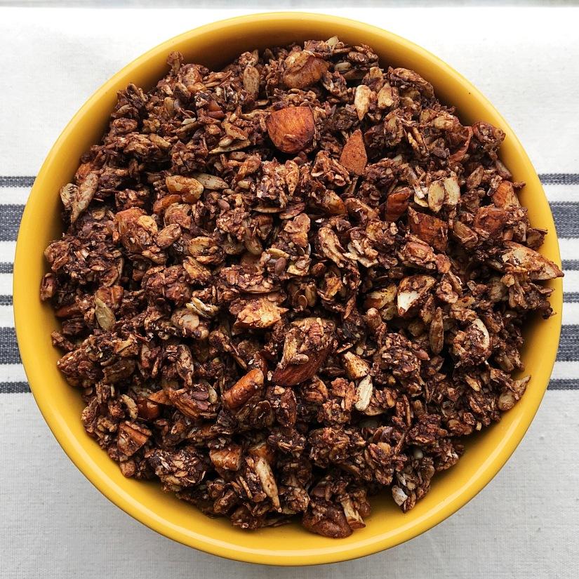 Chocolate Granola Bowl